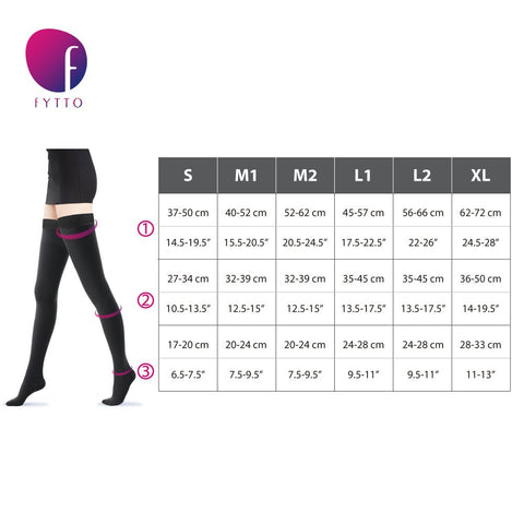 Size Chart Fytto 1024 / Fytto 2024