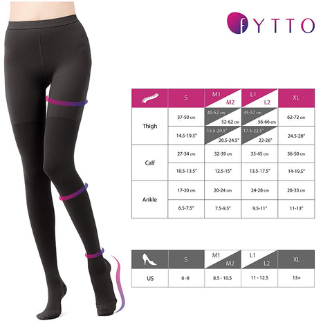 Size Chart Fytto 2026