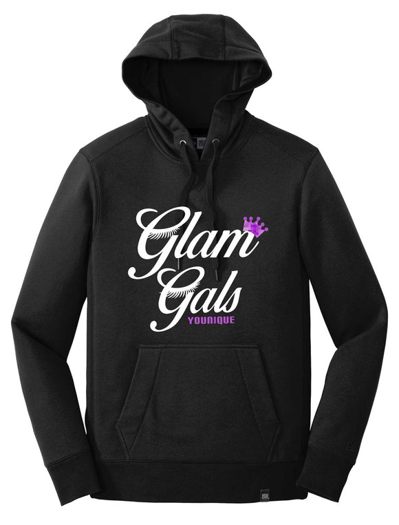 glam gals unisex french terry hoodie