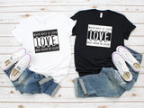 love advisory unisex tee 2 colors