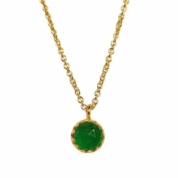 Rococo Necklace - Emerald Quartz, Necklace - Kevia Style, LLC