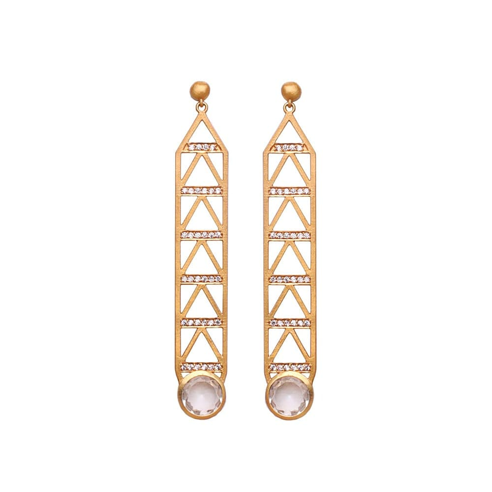 Art Deco Earring, Earrings - Kevia Style, LLC