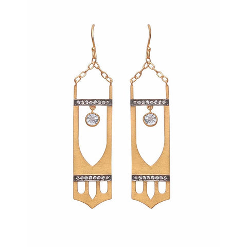 Art Deco Earring