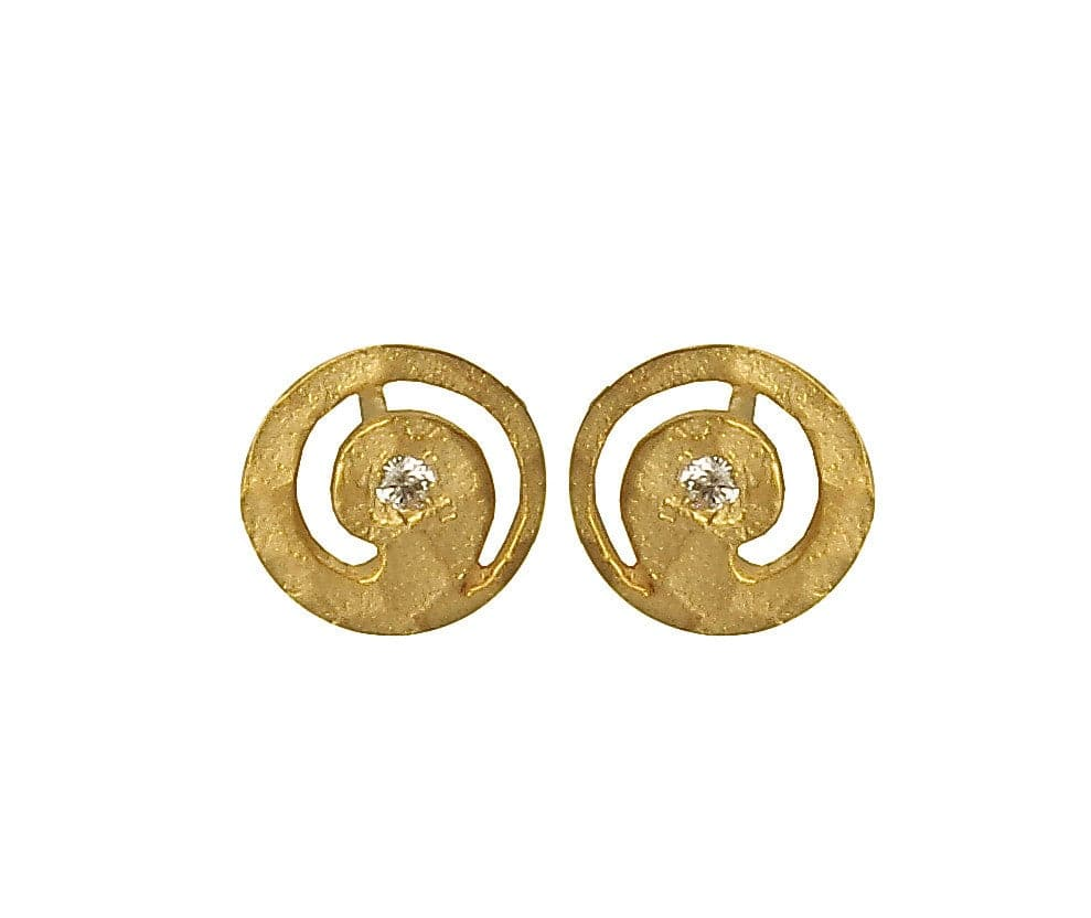 Gilt Earrings, Earrings - Kevia Style, LLC