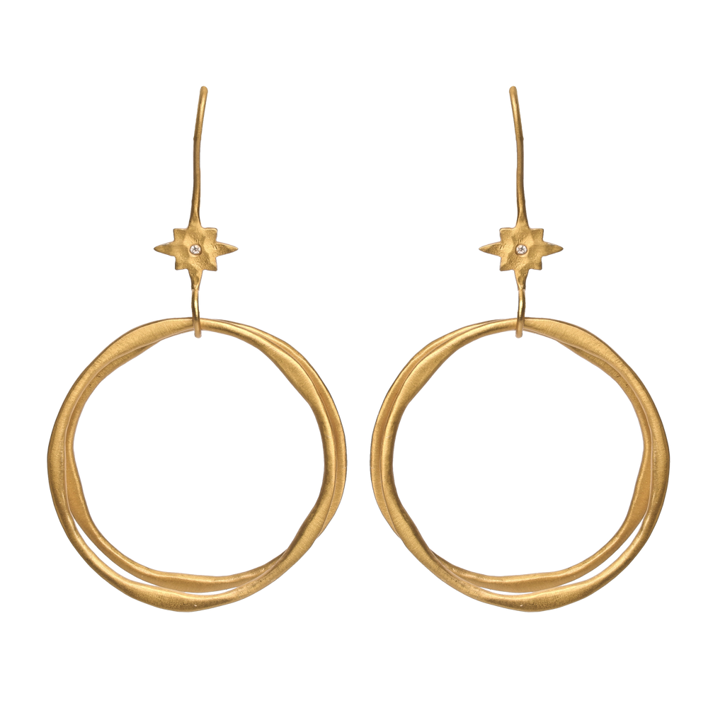 Iconography Earrings, Earrings - Kevia Style, LLC