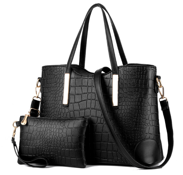 Vegan Crocodile Leather Bag, Handbag, purse, backpack - Kevia Style, LLC