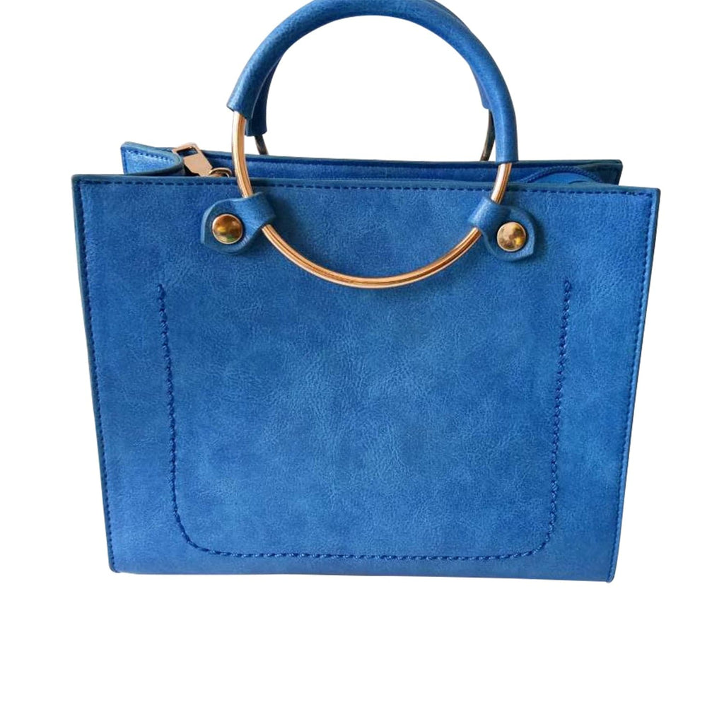 Mini Blue Purse, Handbag, purse, backpack - Kevia Style, LLC