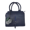 Navy Blue Pebbled Purse