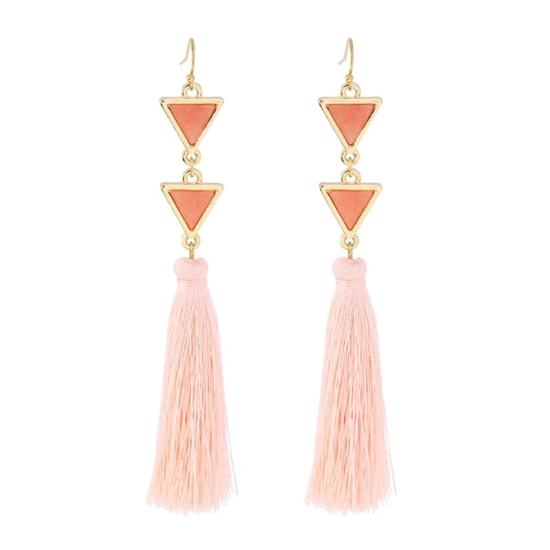 Lizzie Pyramid Earring, Earring - Kevia Style, LLC