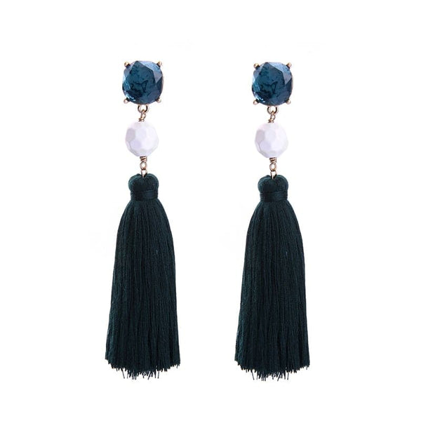 Lizzie Post Earring Tassel