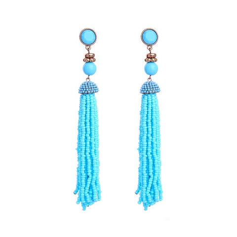 Lizzie Shoulder Duster Earrings