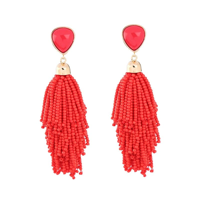 Lizzie Beaded Earrings, Earring - Kevia Style, LLC