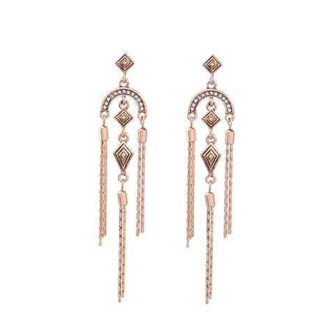 Lizzie Chandelier earrings