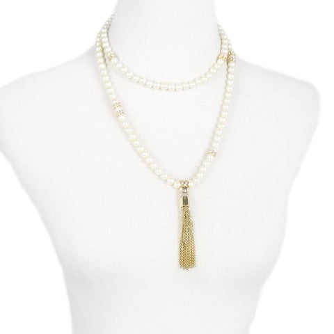 Lizzie Pearl Necklace