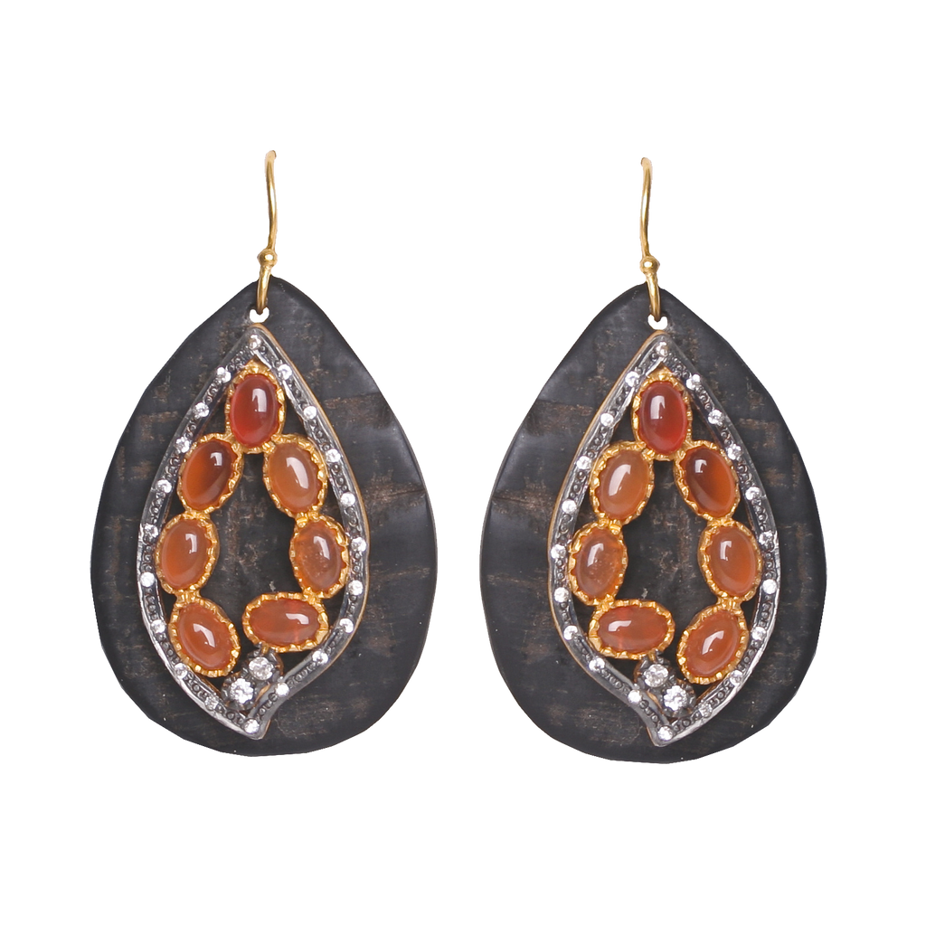 Mosaic Earrings, Earrings - Kevia Style, LLC