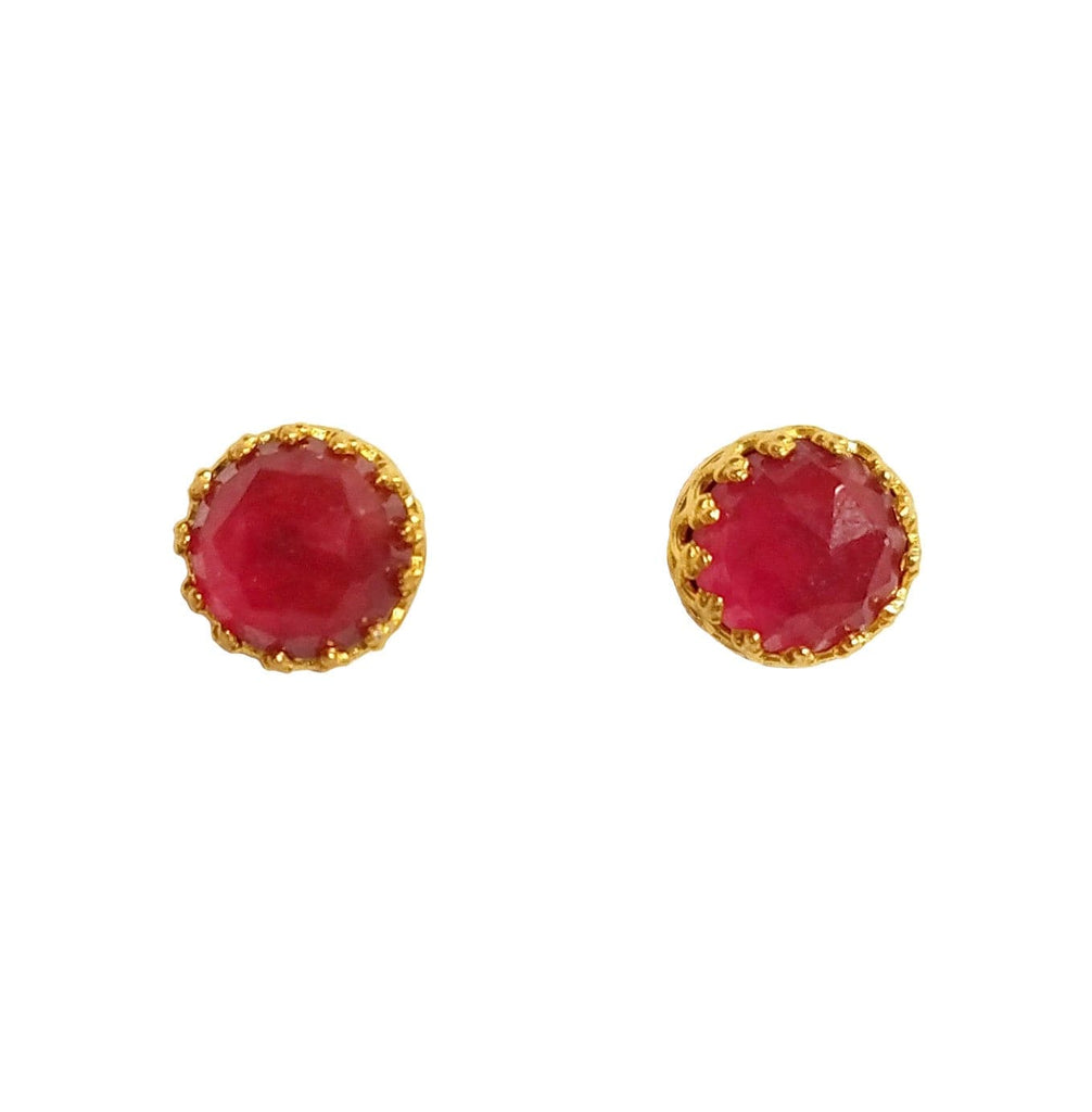 Rococo Earring - October Birthstone