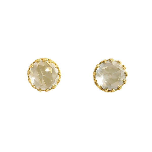 Rococo Earring - April Birthstone