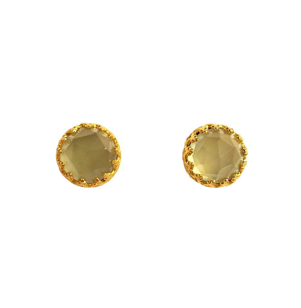 Rococo Earring - August Birthstone