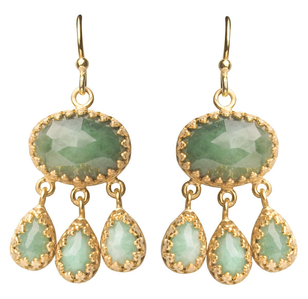 Rococo Earrings, Earrings - Kevia Style, LLC