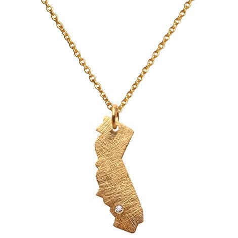 Roam Necklace - California, Necklace - Kevia Style, LLC