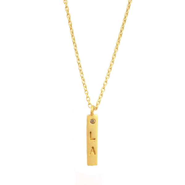 Roam Necklace - Los Angeles, Necklace - Kevia Style, LLC