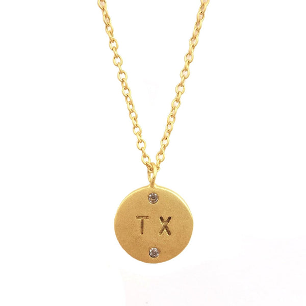Roam Necklace - Texas, Necklace - Kevia Style, LLC