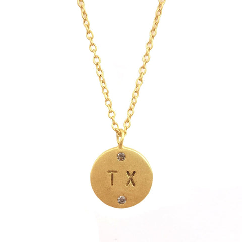 Roam Necklace - Texas