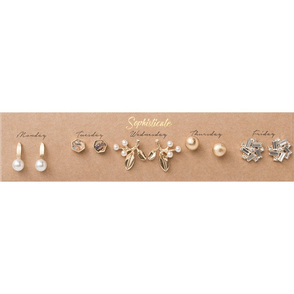 Sophisticate Post Earring Set, Earrings - Kevia Style, LLC