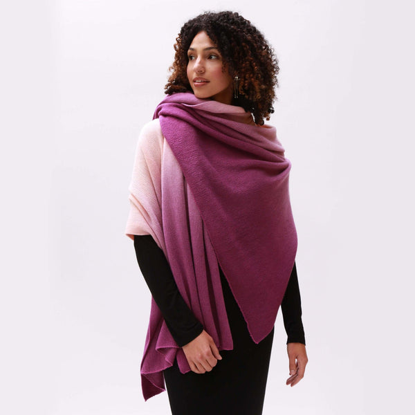 Ombre Scarf - Pink