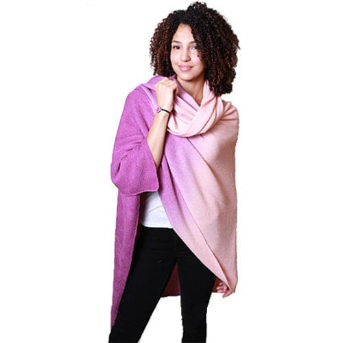 Ombre Scarf - Pink, Apparel - Kevia Style, LLC