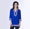 Tunic - Blue, Apparel - Kevia Style, LLC