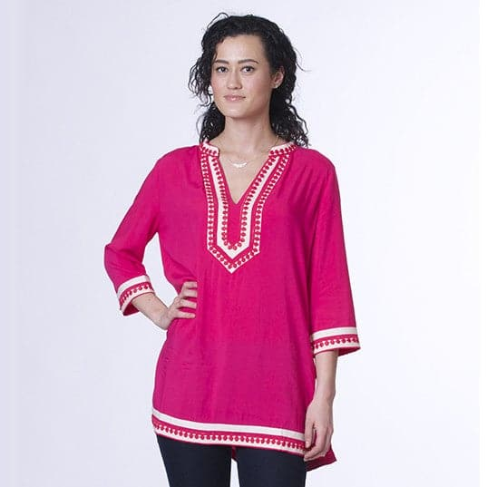 Tunic - Fuschia, Apparel - Kevia Style, LLC