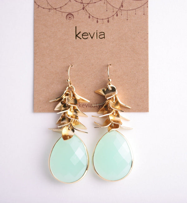 Vie Boheme Earring, Earrings - Kevia Style, LLC