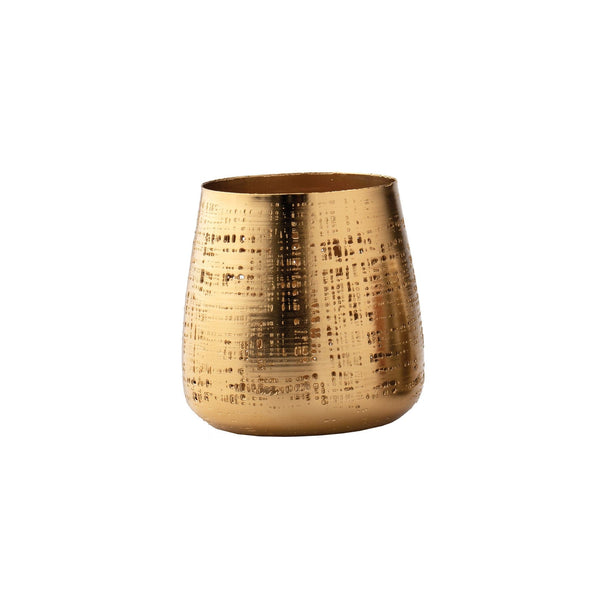 Large Gold Votive & Catch-All