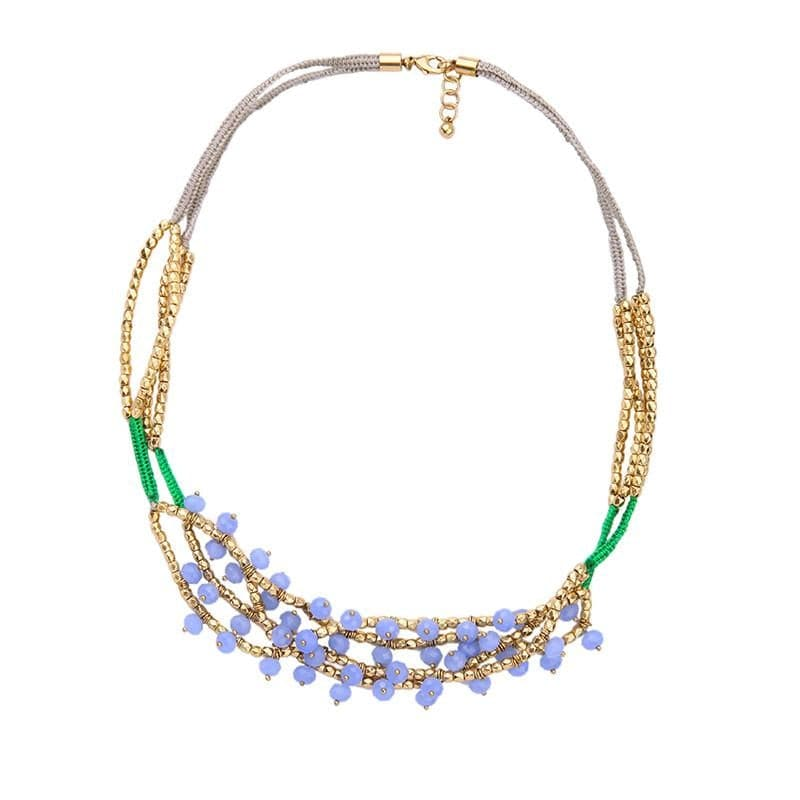 Lizzie Beaded Necklace