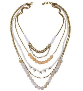 Lizzie Multi Layered Beaded Necklace, Necklaces - Kevia Style, LLC