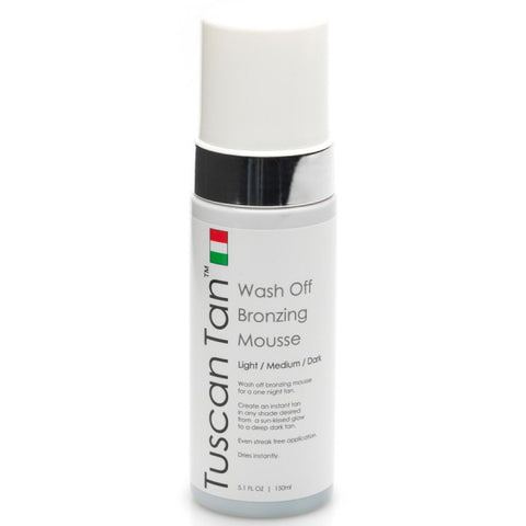 Wash Off Bronzing Mousse (Instant Tan)