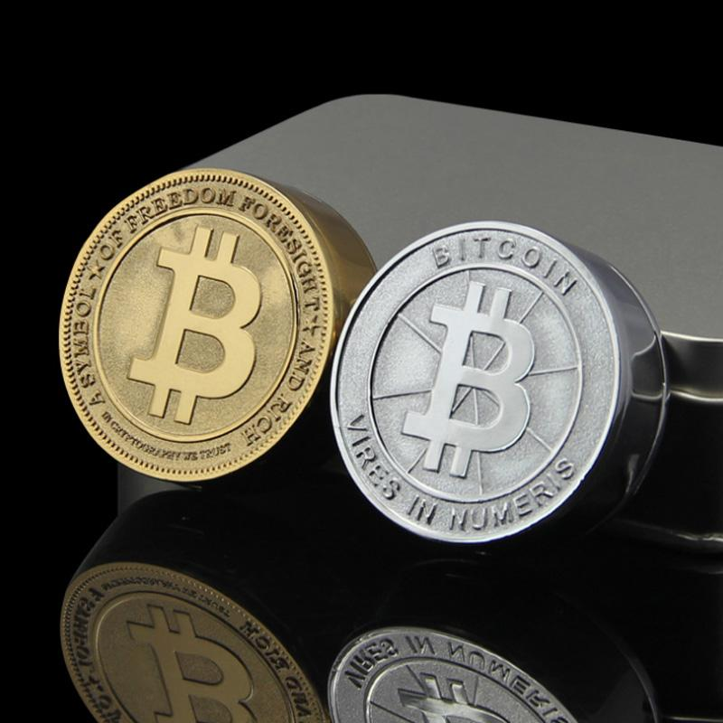 Rechargeable Flameless Bitcoin Electronic USB Lighter