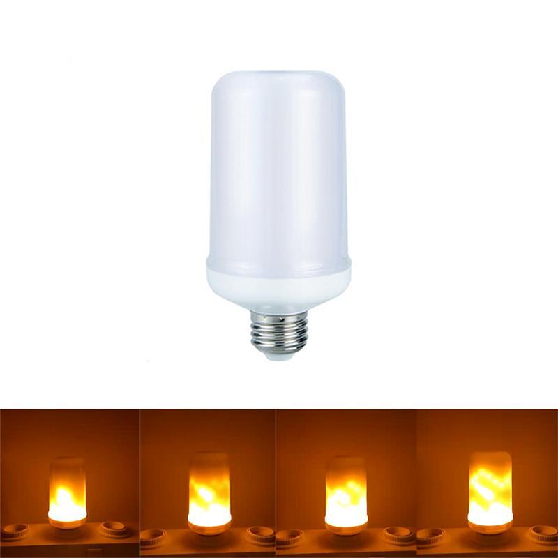 Light Bulb With Flame Effect (LED)