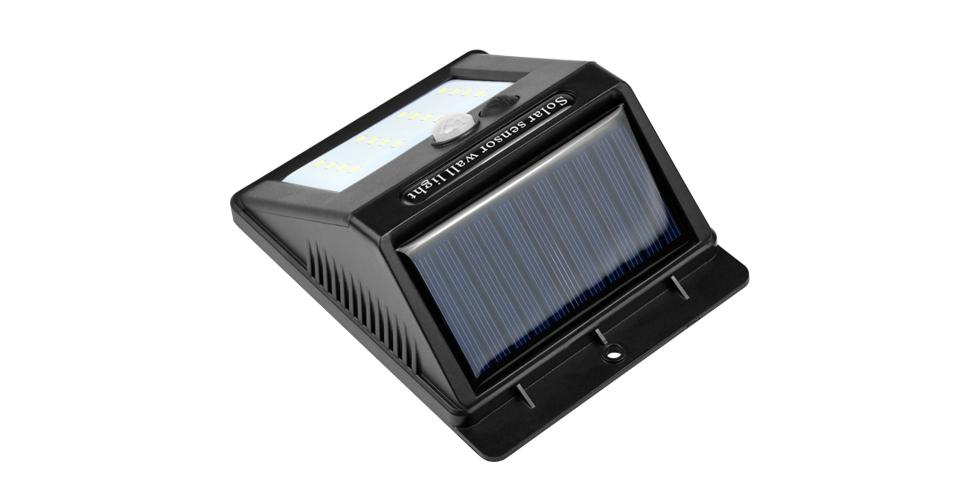 LED Solar Motion Sensor Lamp