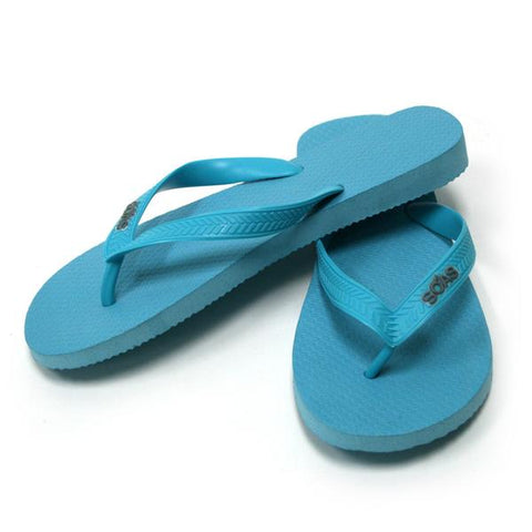 SOAS Teal Flip Flop Medium Accessories
