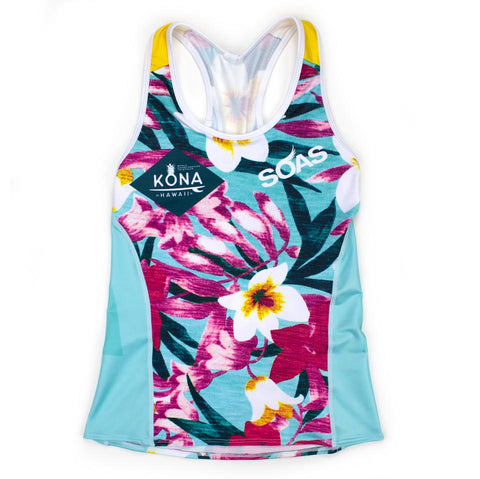 Floral Kona Tri Shell Small Top
