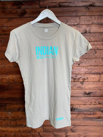 Indian Wells T Shirt Teal Large Top