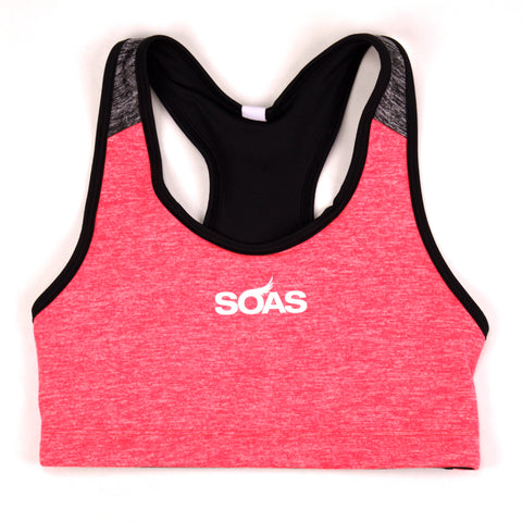 Heather Sports Bra Small Top