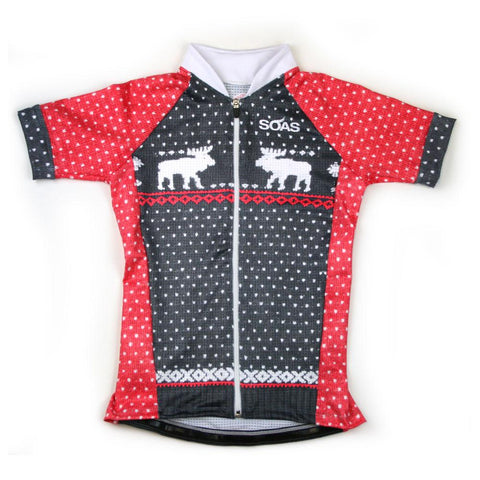 Reindeer Holiday Cycle XSmall Top