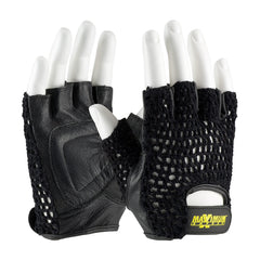 Maximum Safety Leather Lifting Gloves