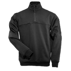 5.11 Black 1/4 Zip Job Shirt