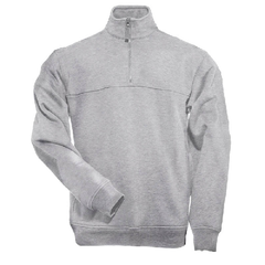5.11 Heathered Gray 1/4 Zip Job Shirt