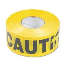 "3"" x 1000' Caution Tape Roll"