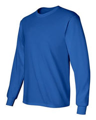 Gildan Ultra Cotton L/S T-Shirt-Royal